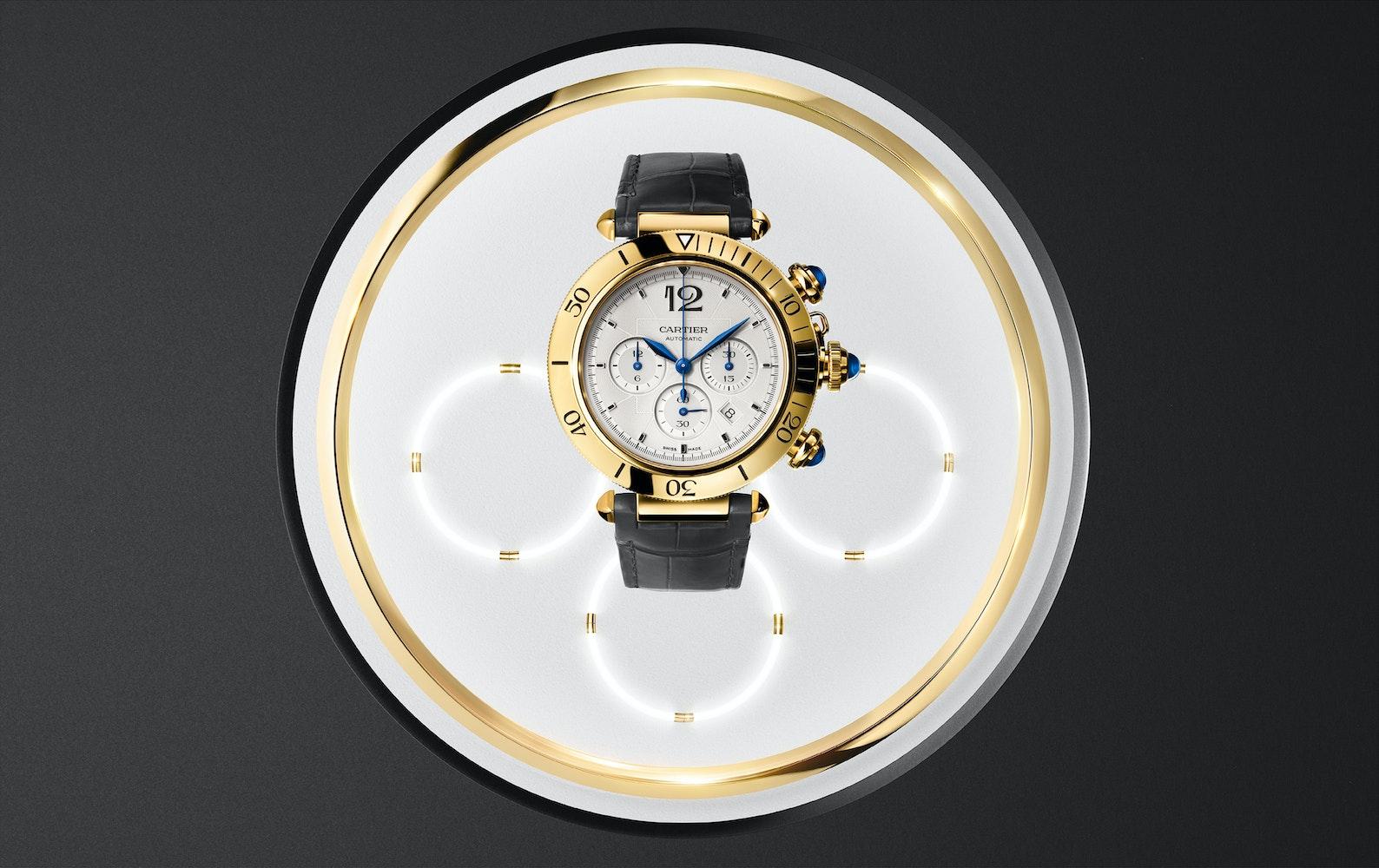 08 WGPA0017 Cartier Pasha de Cartier Chrono Gold 300 DPI