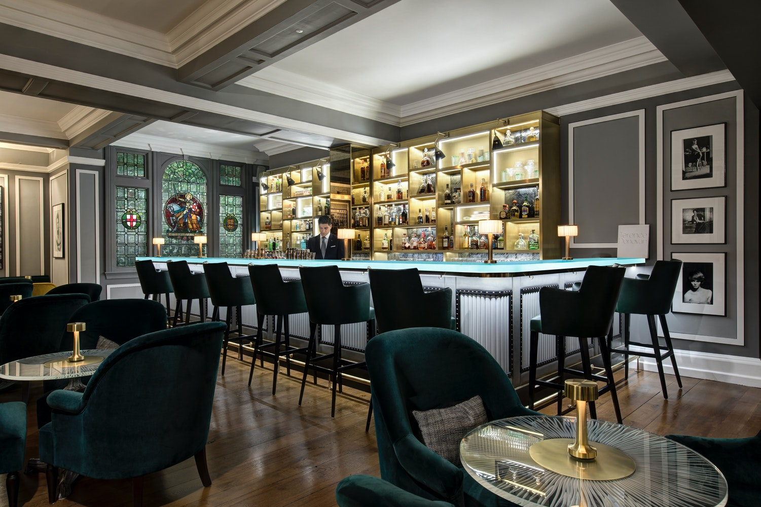 Browns Hotel Donovan Bar by Janos Grapow