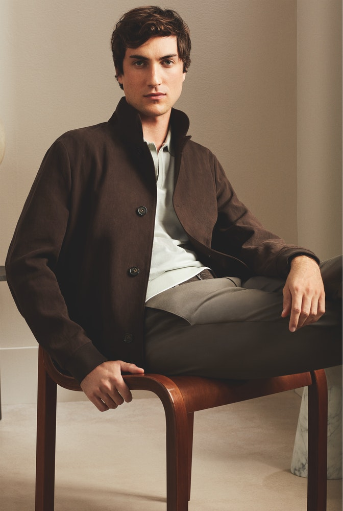 Loro Piana SS21 Man s Collection Look18