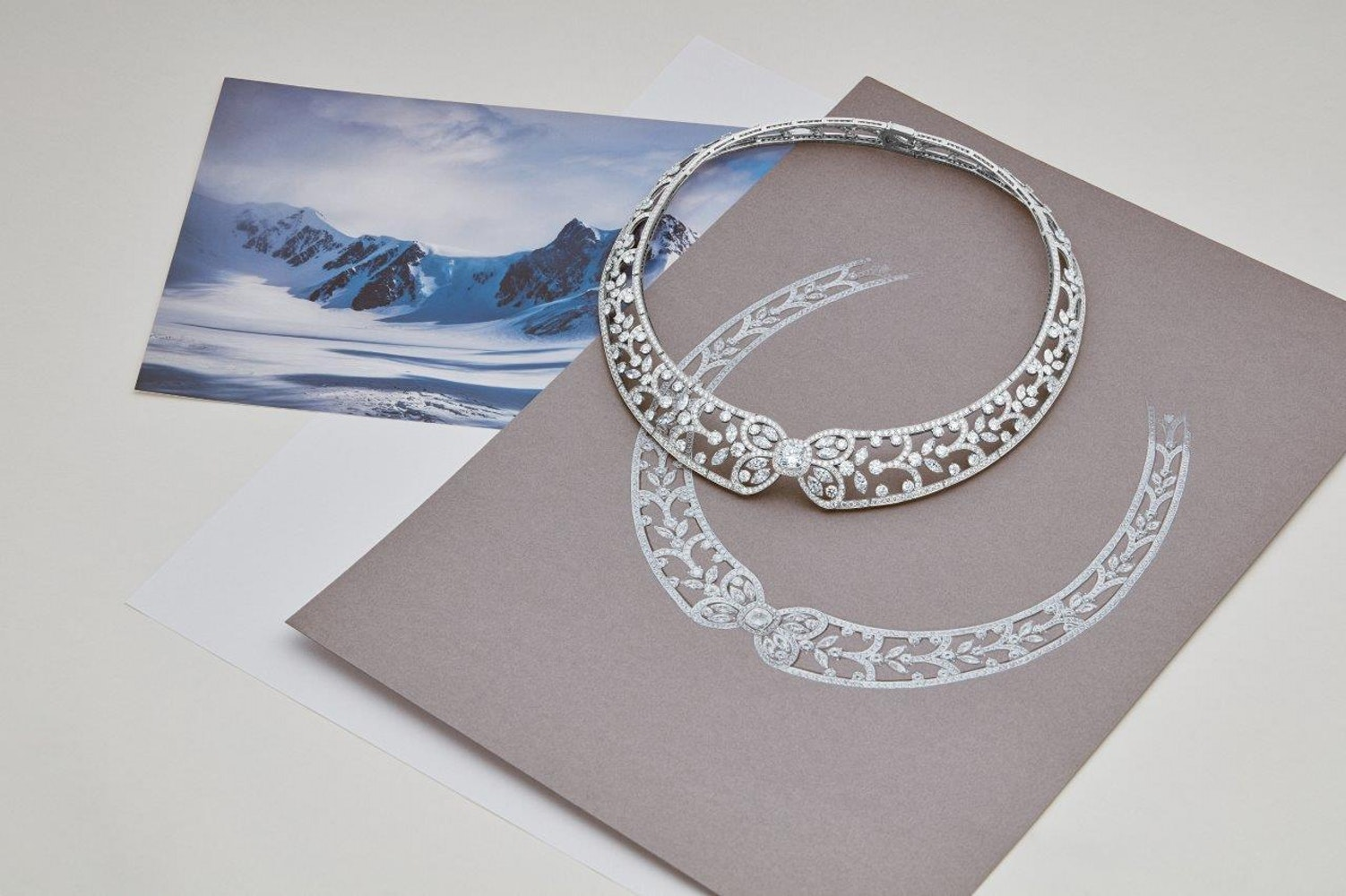 Reflections of Nature by De Beers Ellesmere Treasure necklace
