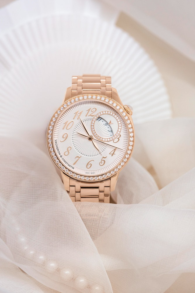 Vacheron Constantin Egerie Self Winding Pink Gold Diamonds 2