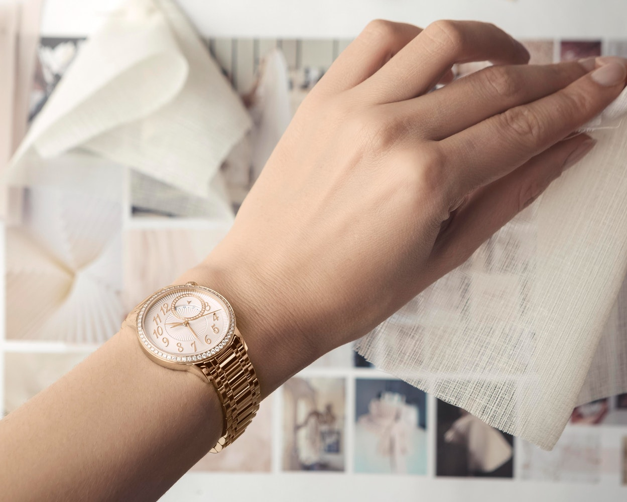 Vacheron Constantin Egerie Self Winding Pink Gold Diamonds 6
