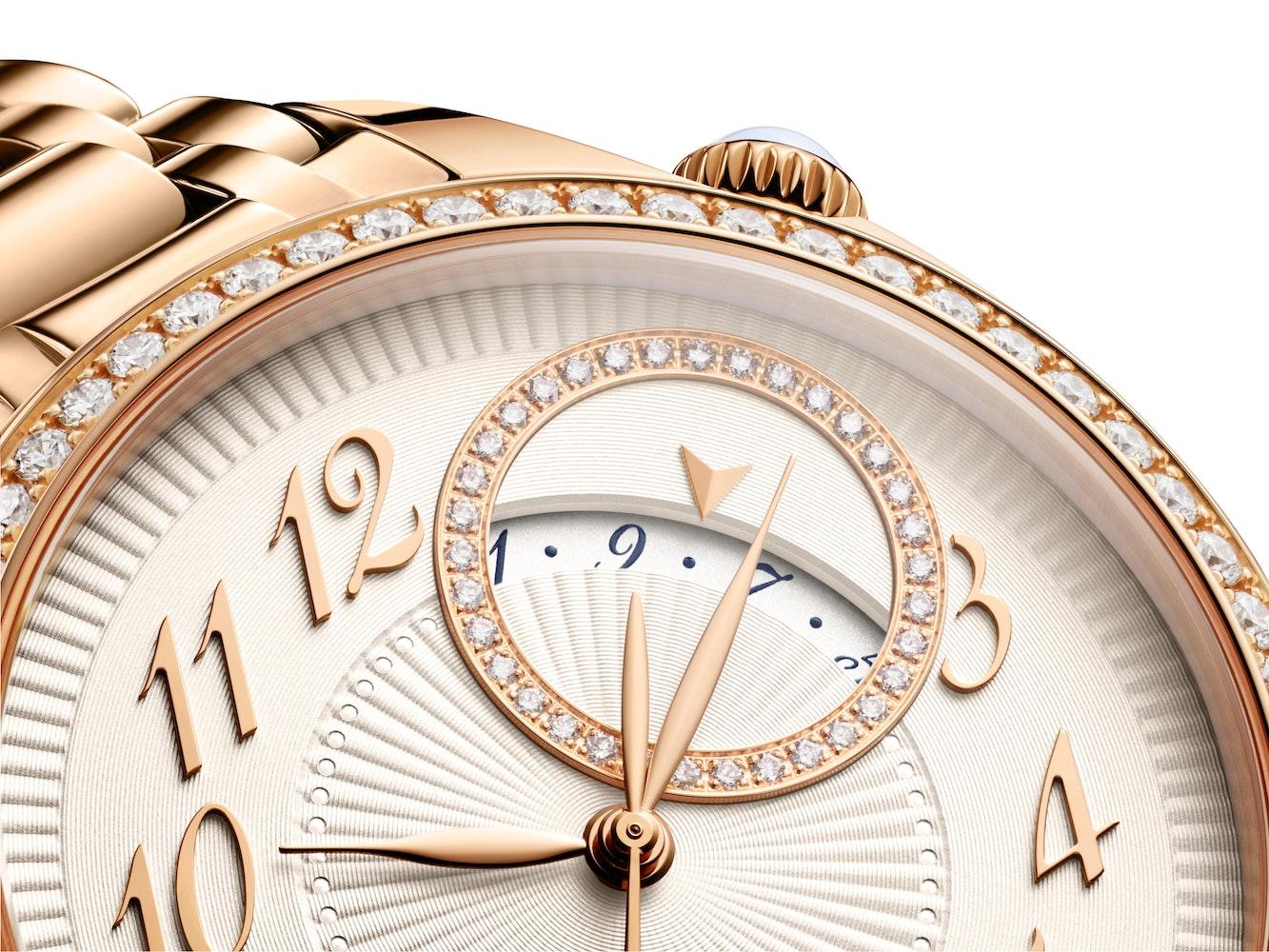 Vacheron Constantin Egerie Self Winding Pink Gold with Diamond Set Case Date Indication 2
